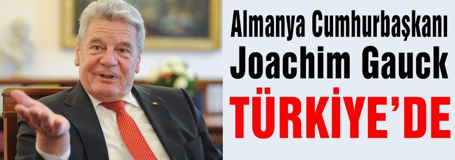 Almanya Cumhurbaşkanı Ankara'da
