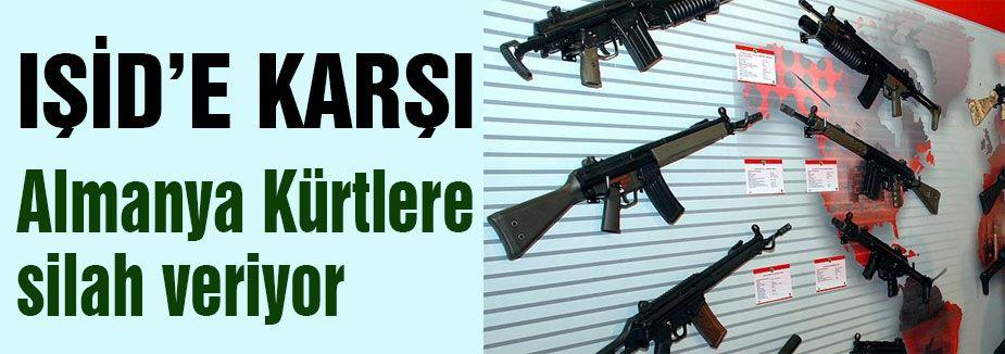 Almanya Kürtlere silah veriyor