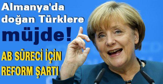 Almanya'da doğan Türklere müjde!