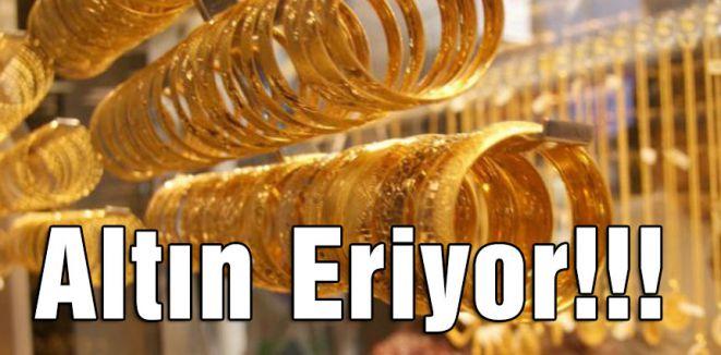 Altın Eriyor!!!