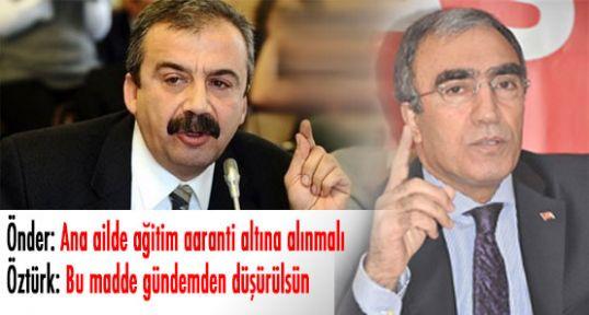 Ana dil konusunda MHP-BDP arasında gerginlik