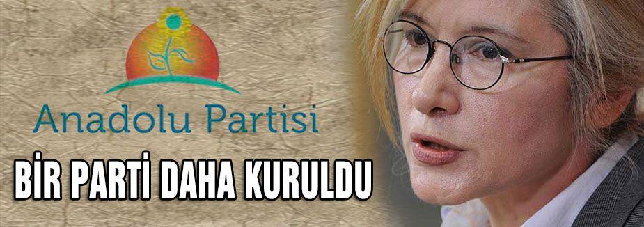 Anadolu Partisi kuruldu