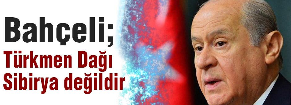 Devlet Bahçeli'den Türkmen Katliamına Sert Tepki