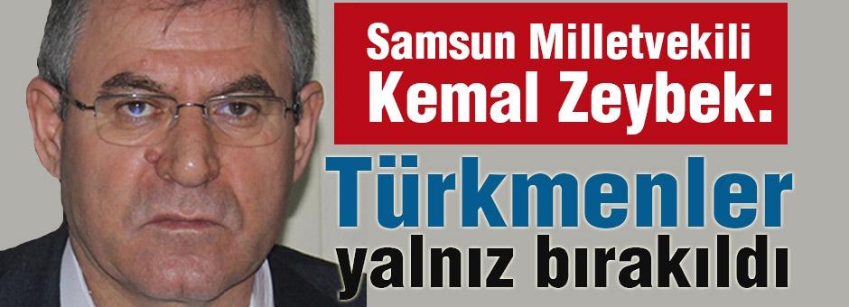 CHP'li Zeybek: Türkmenler Yalnız Kaldı!