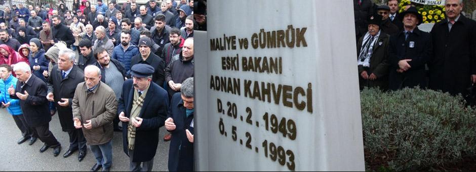 Adnan Kahveci Mezarı Başında Anıldı
