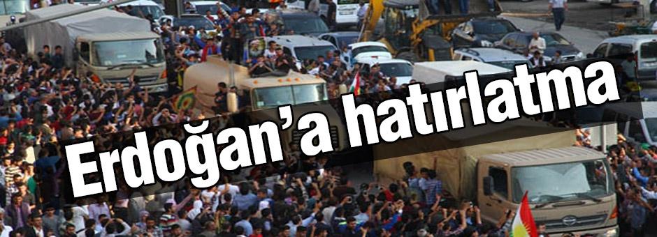 ERdoğan'a 'Lahmacunlu' PYD Hatırlatması