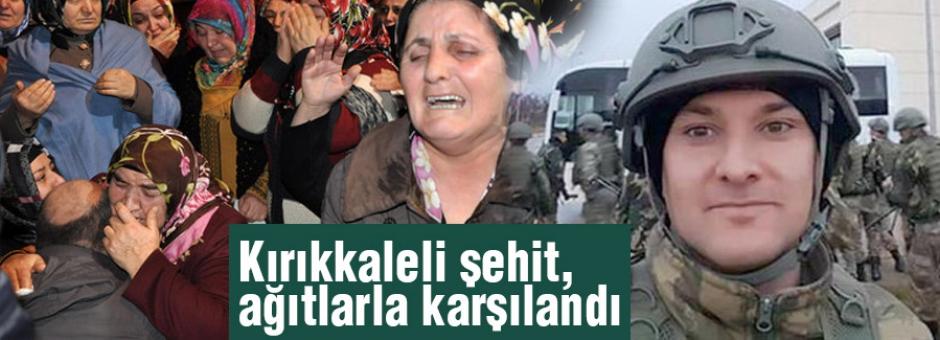 Özel Harekatçı Şehit, Kırıkkale'de Ağıtlarla Karşılandı