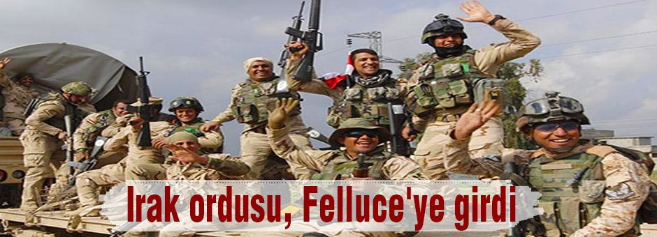 Irak Ordusu, Felluce'ye üç koldan girdiğ