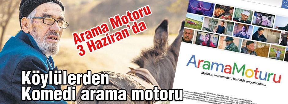 Köylülerden komedi filmi Arama Motoru