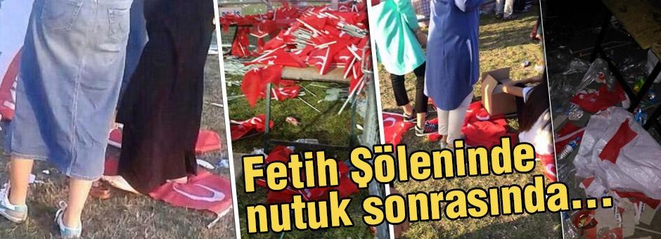 Anlamlı Bir Günde Türk Bayrağı Ayaklar Altında Olamaz