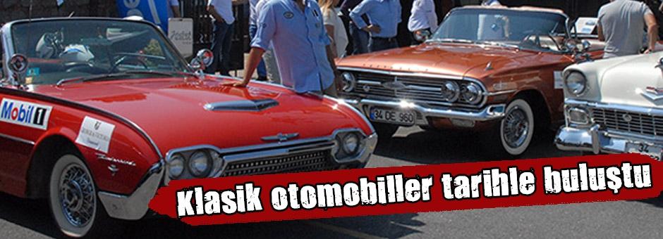 Tarihi Klasik otomobillerin Süskesi...
