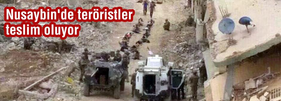 PKK'lı Teröristler Teslim Oluyor