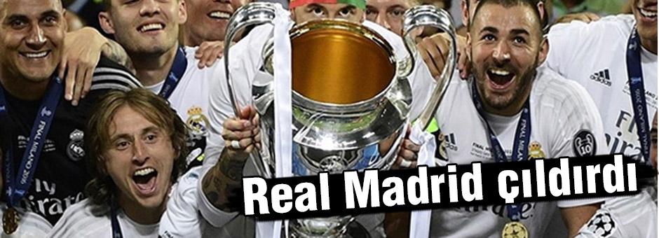 Real Madrid Çıldırdı...