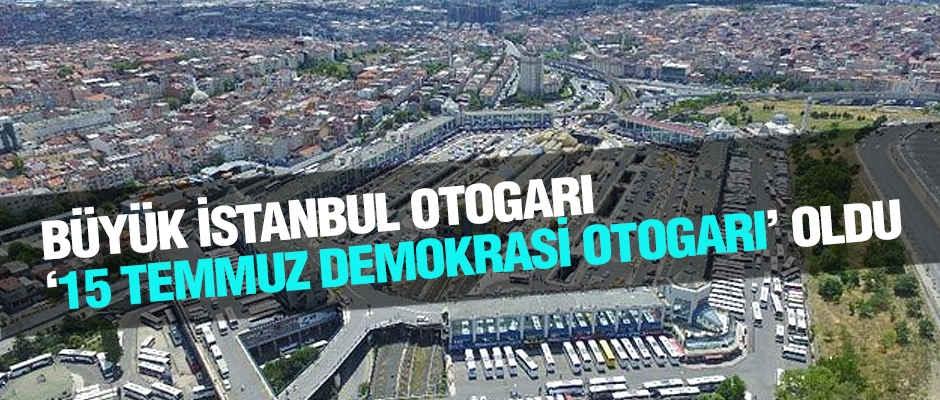 İstanbul  Otogarı'nın İsmi Değişti