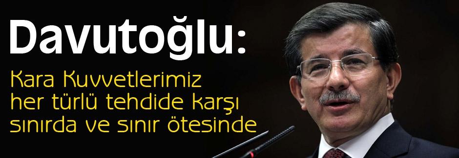 Davutoğlu: önemli açıklamalarda bulundu