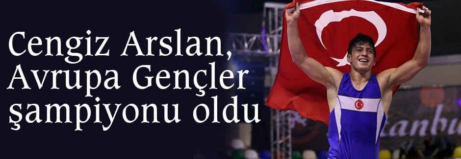 Cengiz Arslan, Avrupa şampiyonu oldu