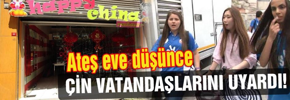 Çin'den vatandaşlarına Türkiye Uyarısı!