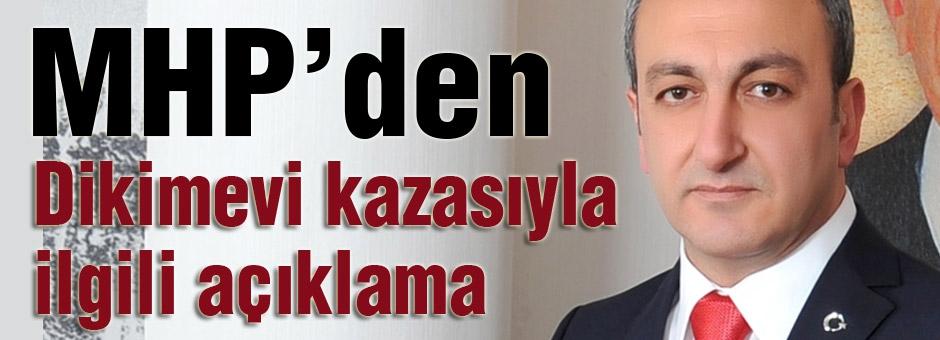 MHP'li Çetinkaya: Dikimevi kazasıyla ilgili açıklama yaptı