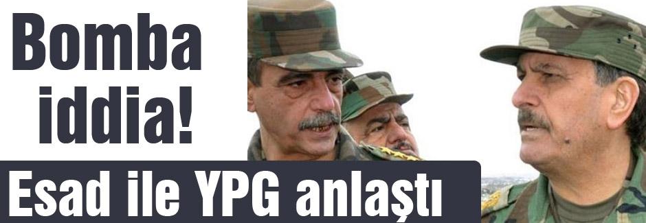 Bomba gelişme; Esad ile PYD anlaştı