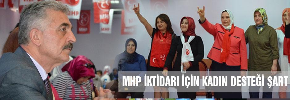 Büyükataman: MHP iktidarı için kadın desteği şart