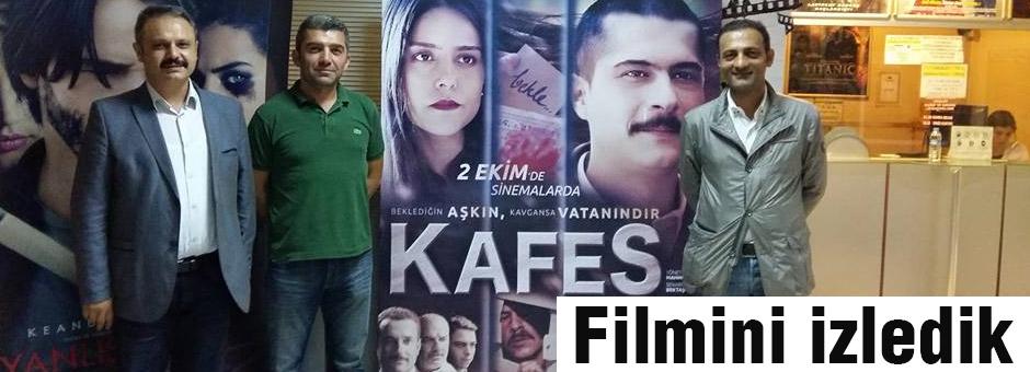 'KAFES' Filmi Samsun'da İlgi Görüyor