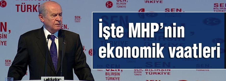 MHP'nin Merak Edilen Ekonomik Vaatleri...