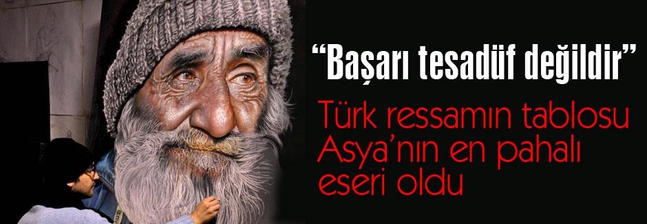 Asya'nın en pahalı eseri Türk Ressam'dan