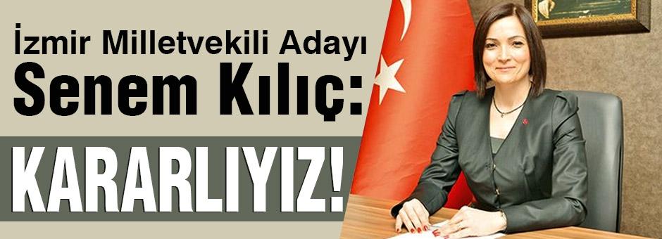 MHP M. Adayı Senem Kılıç: Oyunlara İzin Vermeyeceğiz