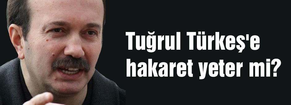 Tuğrul Türkeş'e hakaret yeter mi?