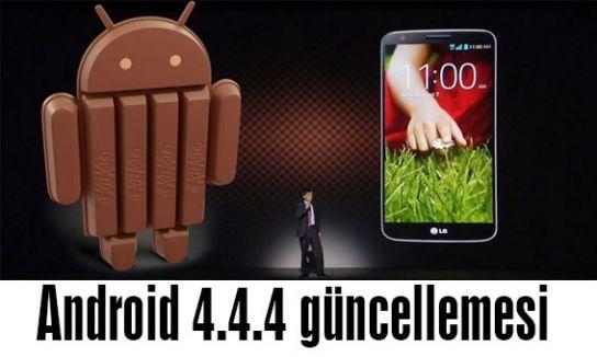 Android 4.4.4 güncellemesi