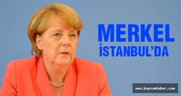 Angela Merkel  İstanbul'da