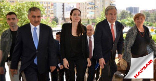 Angelina Jolie, Mardin Valiliği'ni ziyaret etti