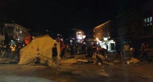 Ankara Geceyi Ayakta Geçirdi...