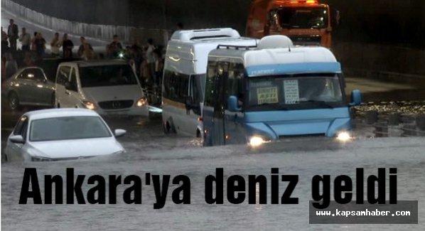 Ankara'ya deniz geldi