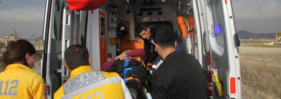Ankara'da trafik kazası: 25 yaralı