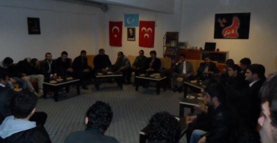 Antalya Ülkü Ocakları Kemer'de Gençlerle...