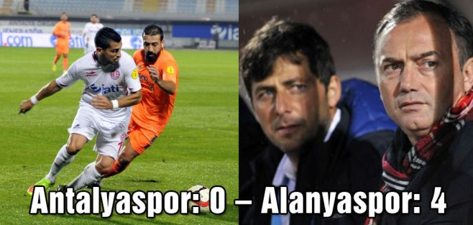Antalyaspor: 0 – Alanyaspor: 4