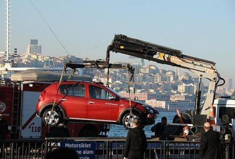 Arabalı vapur kazasında son durum...