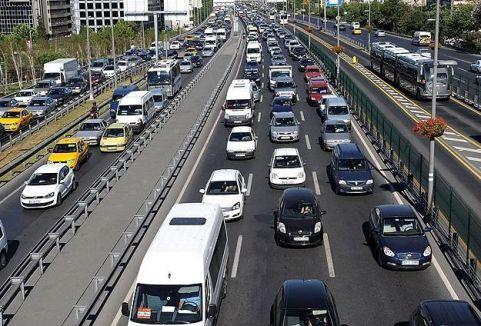 Araç sayısı 17,8 milyona yaklaştı...