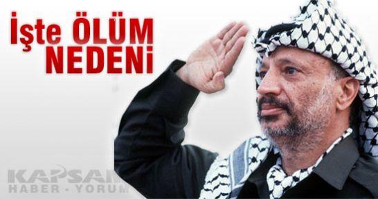 Arafat'ın ölüm nedeniyle ilgili müthiş iddia