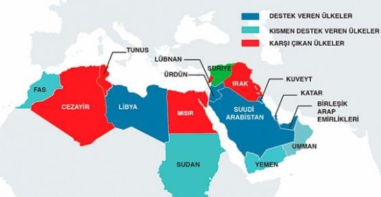 Arap Ülkeleri 3'e Bölündü...