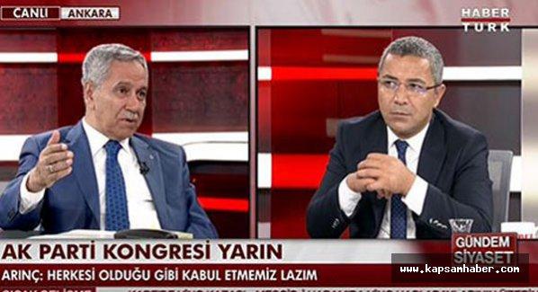 Arınç: 'AK Parti'nin kuruluşunda 'biz'dik, şimdi 'ben' olduk'