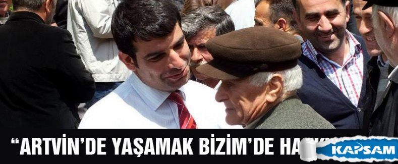 ARTVİN'DE MUHAMMET ALTUNAL RÜZGÂRI