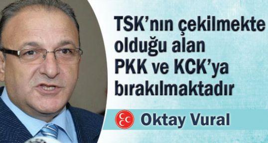 Asker Çekildiği Yerleri PKK'ya mı Bıraktı?