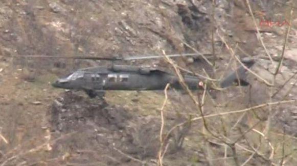 Askeri Helikopter kayboldu...