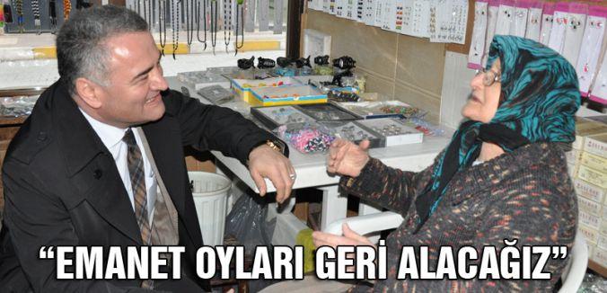 Aslan Karanfil: AKP'deki emanet oyları geri alacağız