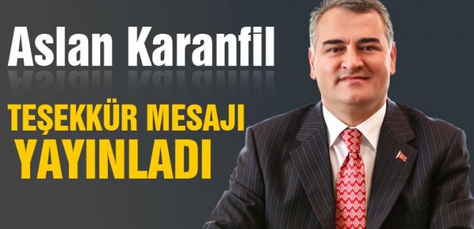 Aslan Karanfil'den açıklama: 'Sen ben meselesi değil...'