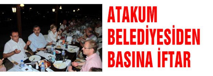 Atakum Belediyesinden Basın Mensuplarına İftar Yemeği