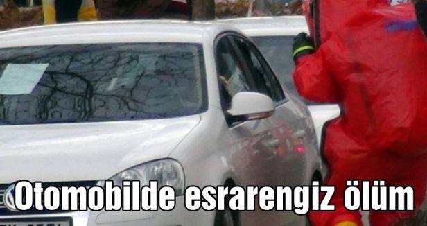 Ataşehir'de Otomobilde esrarengiz ölüm