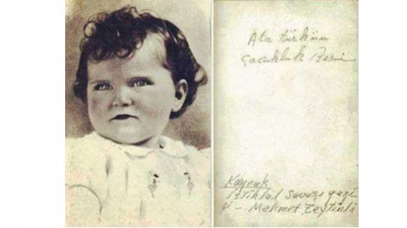 Atatürk'ün Çocukluk Fotoğrafı tartışma konusu oldu...